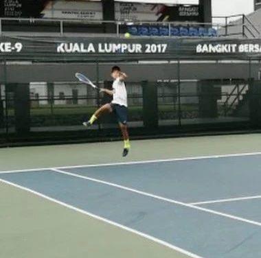 网球正手跳击练习,不要轻易尝试