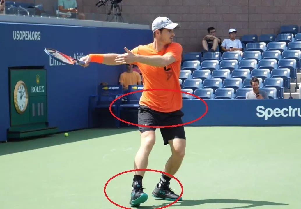 正手发力教程Part1:脚尖朝向居然影响击球力量?