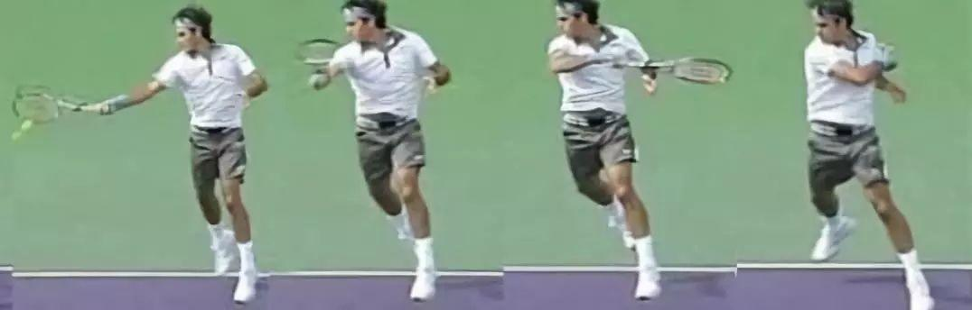 网球正手收拍总是把球拍扛在肩上?大错特错