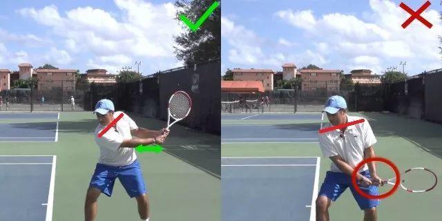 详解网球双反中的转肩运动,千万要避免这个引拍典型错误